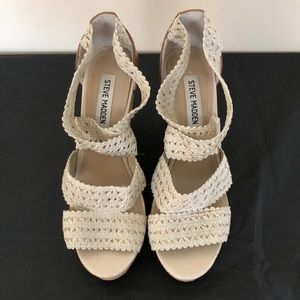 Steve Madden Cork Wedges